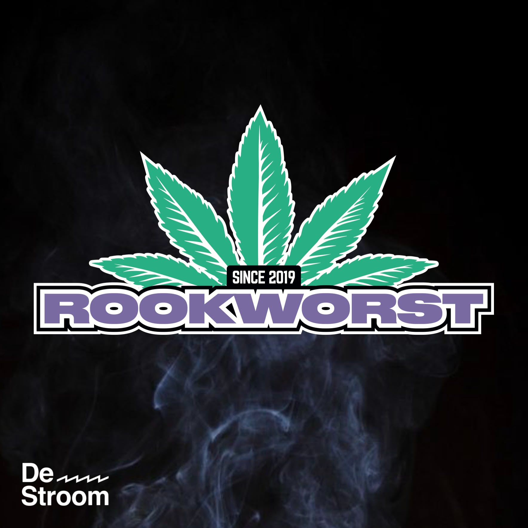 Rookworst de Podcast logo