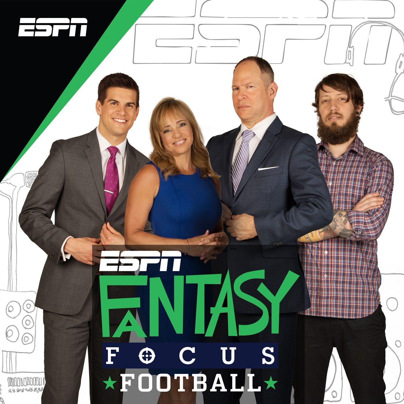 Fantasy Focus Football by ESPN, Matthew Berry, Field Yates, Stephania Bell