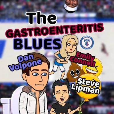 The Gastroenteritis Blues: (68) LIVE on Spotify Green Room - Sixers Rumor Roundup