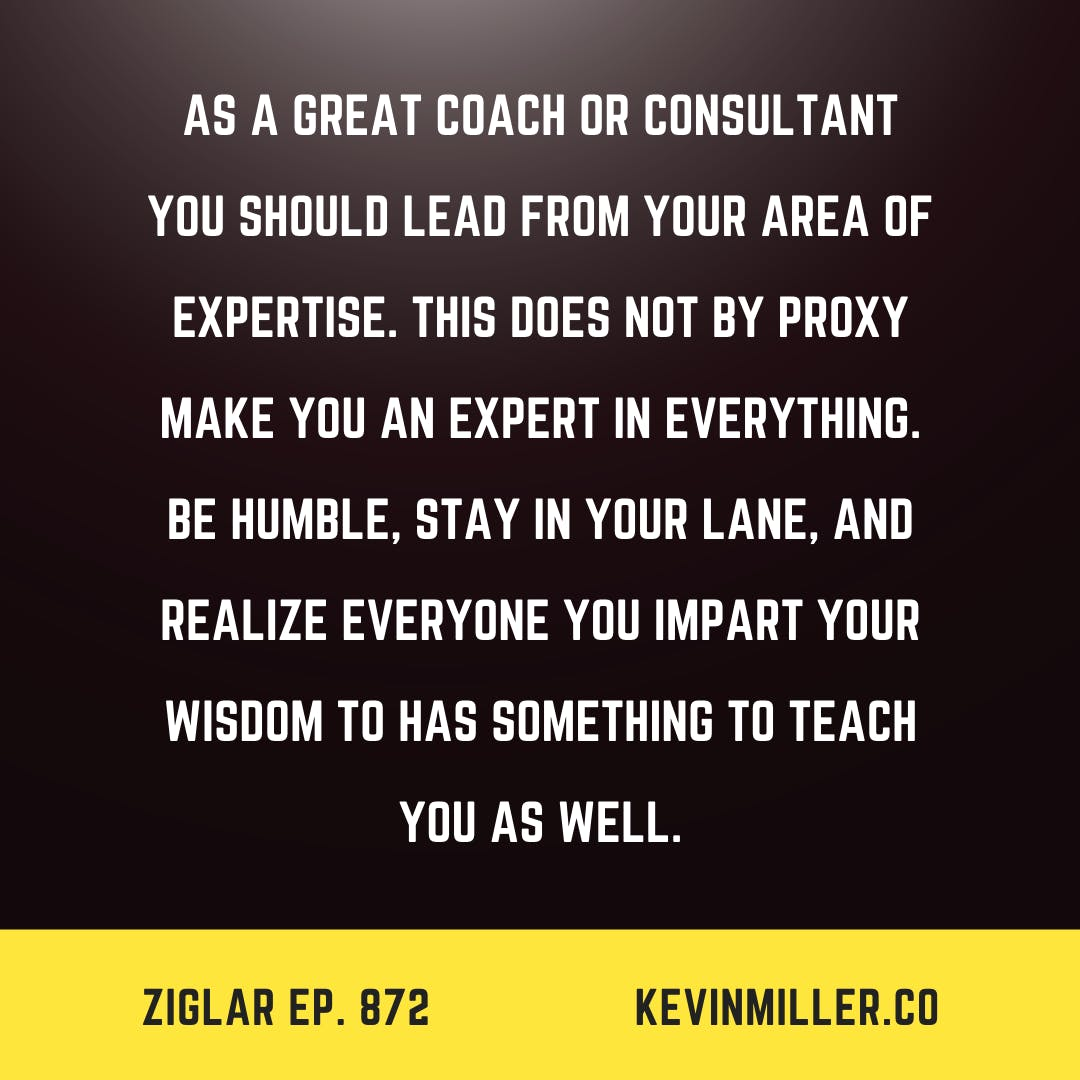 872: Be A Humble Expert