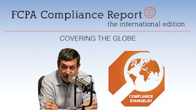 FCPA Compliance Report – International Edition