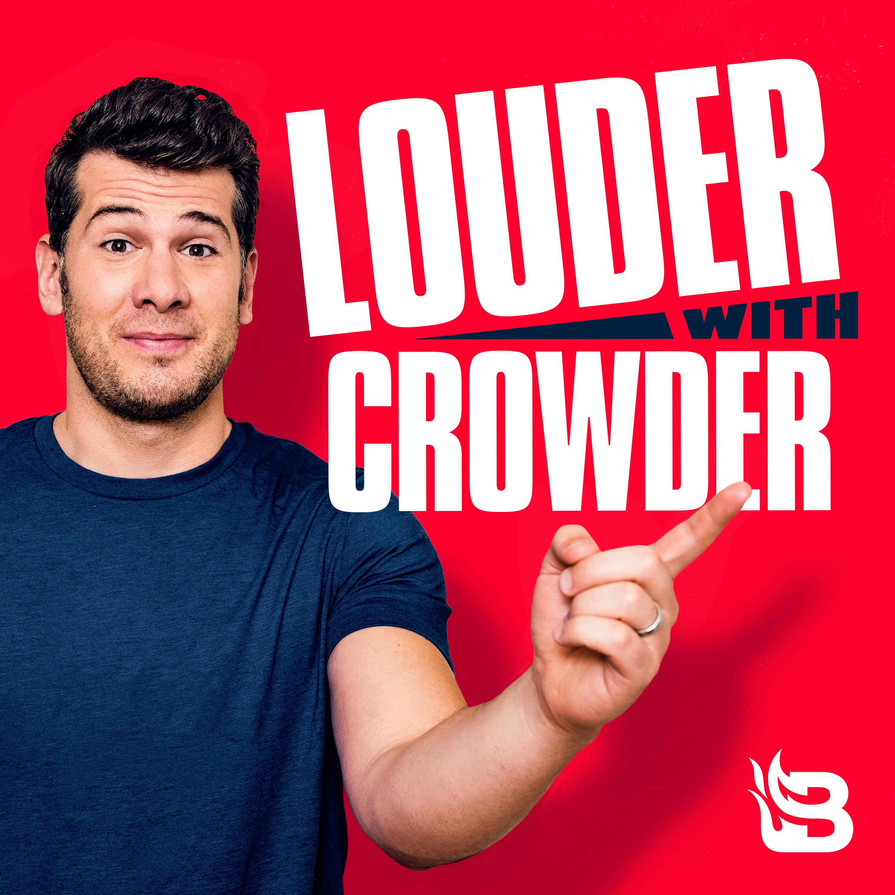 podcast thumbnail for 'Louder with Crowder'