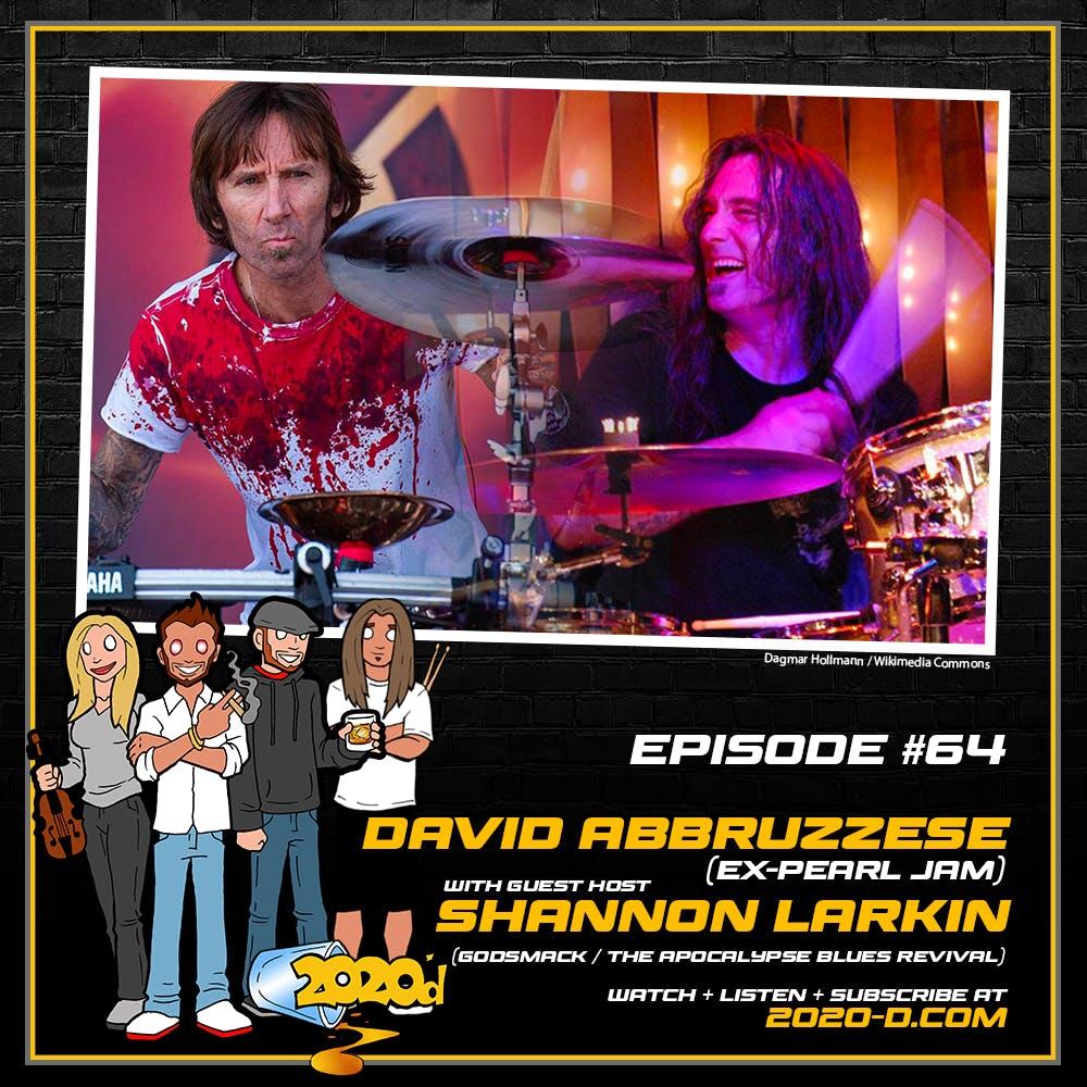 David Abbruzzese w/ GUEST HOST Shannon Larkin: Mushroom Tea and Memories