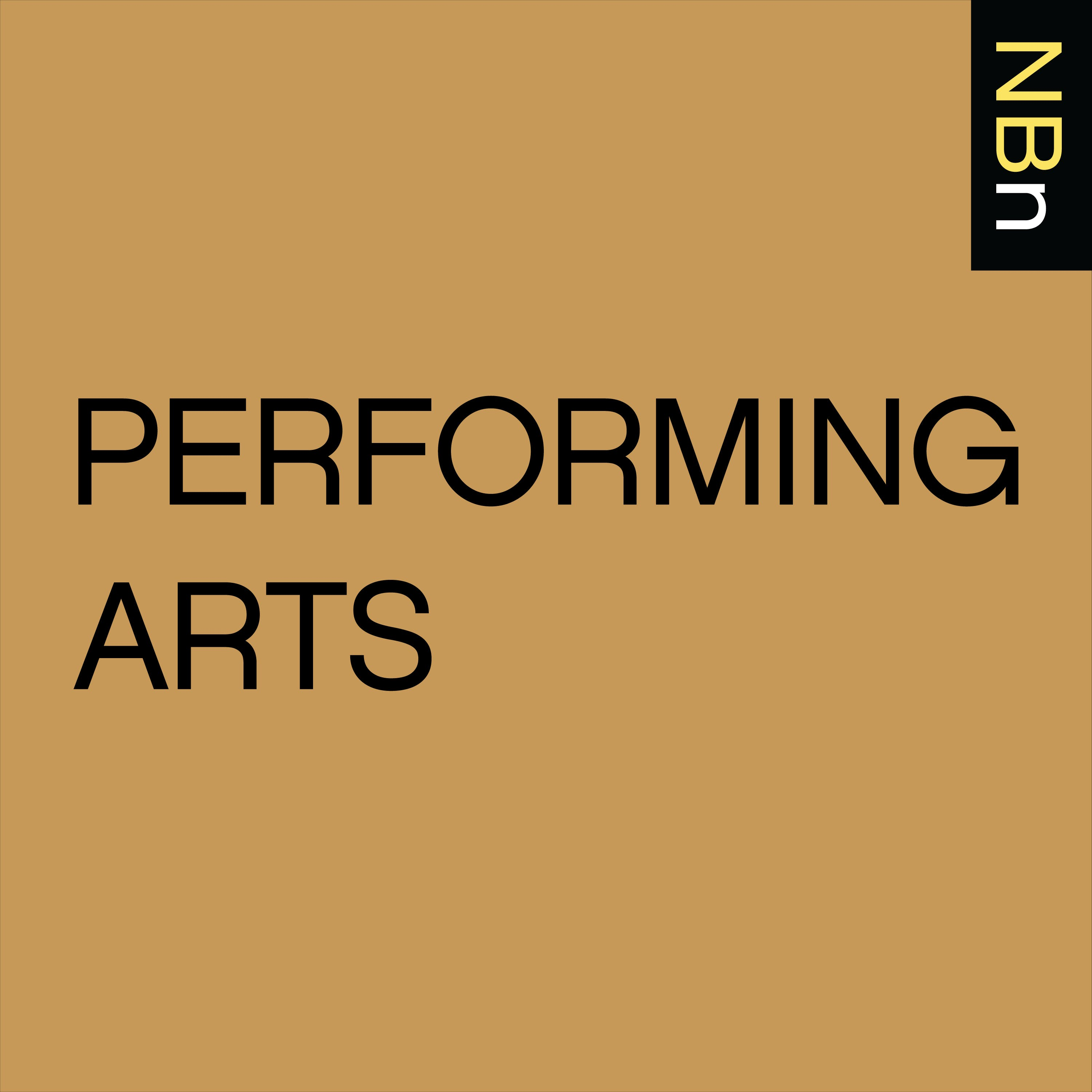 New Books in Performing Arts podcast tile
