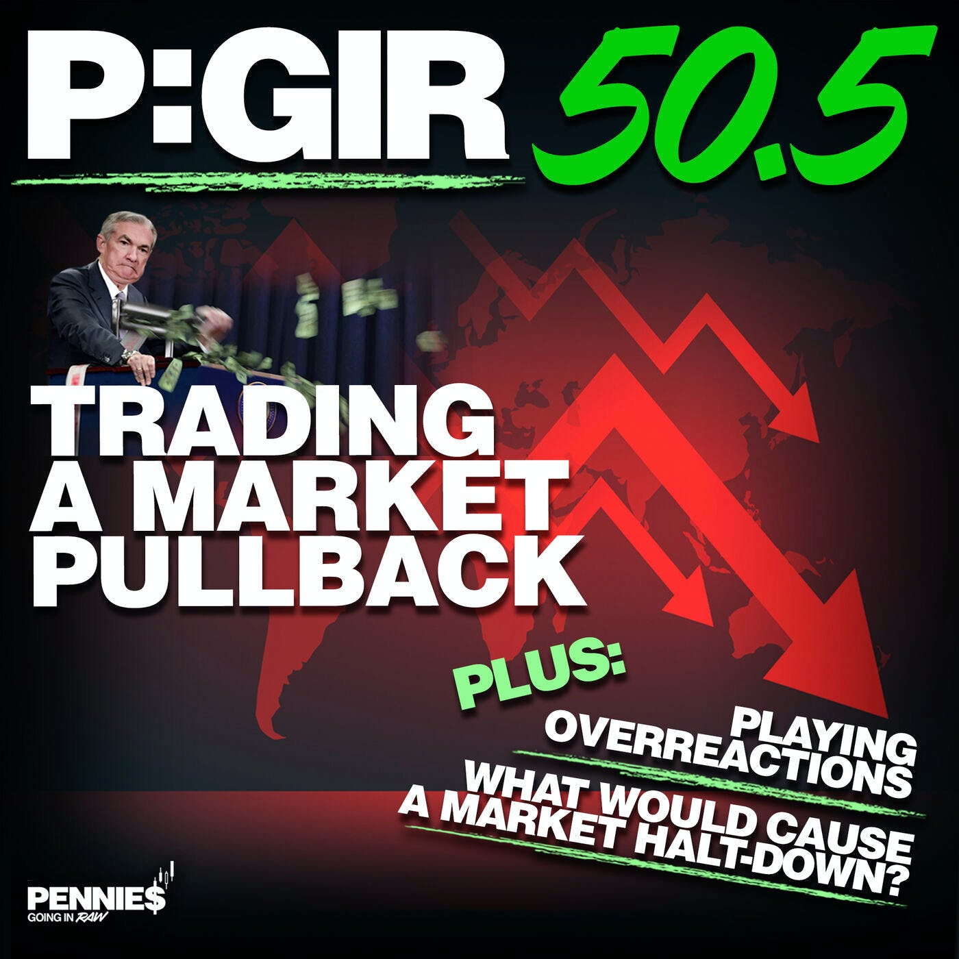 Episode 50.5: Trading in a Market Pullback
