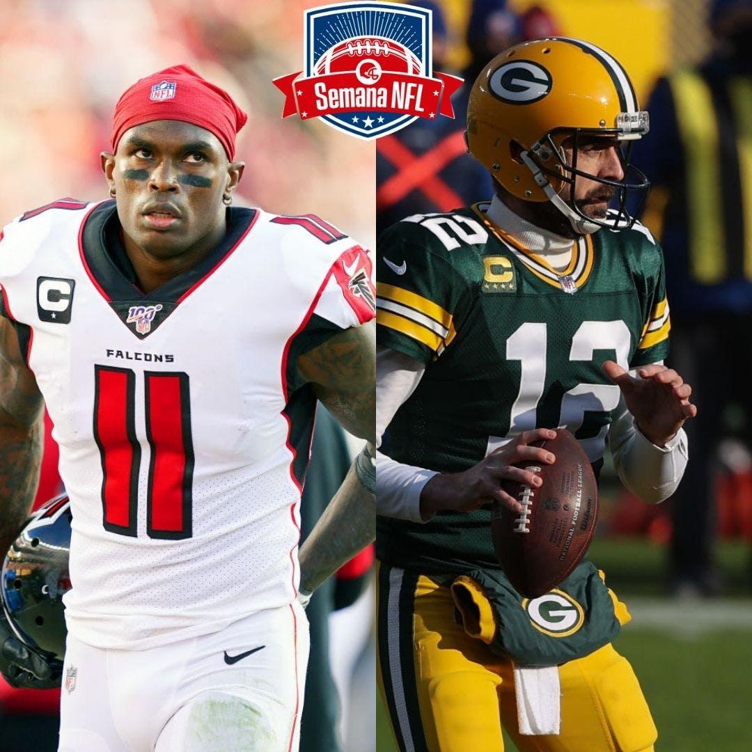 Semana NFL #11 - Julio Jones quer sair de Atlanta e o Drama Rodgers/Packers