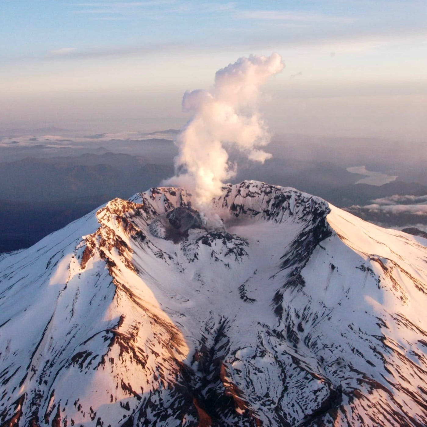 40 Climbing Mount St. Helens
