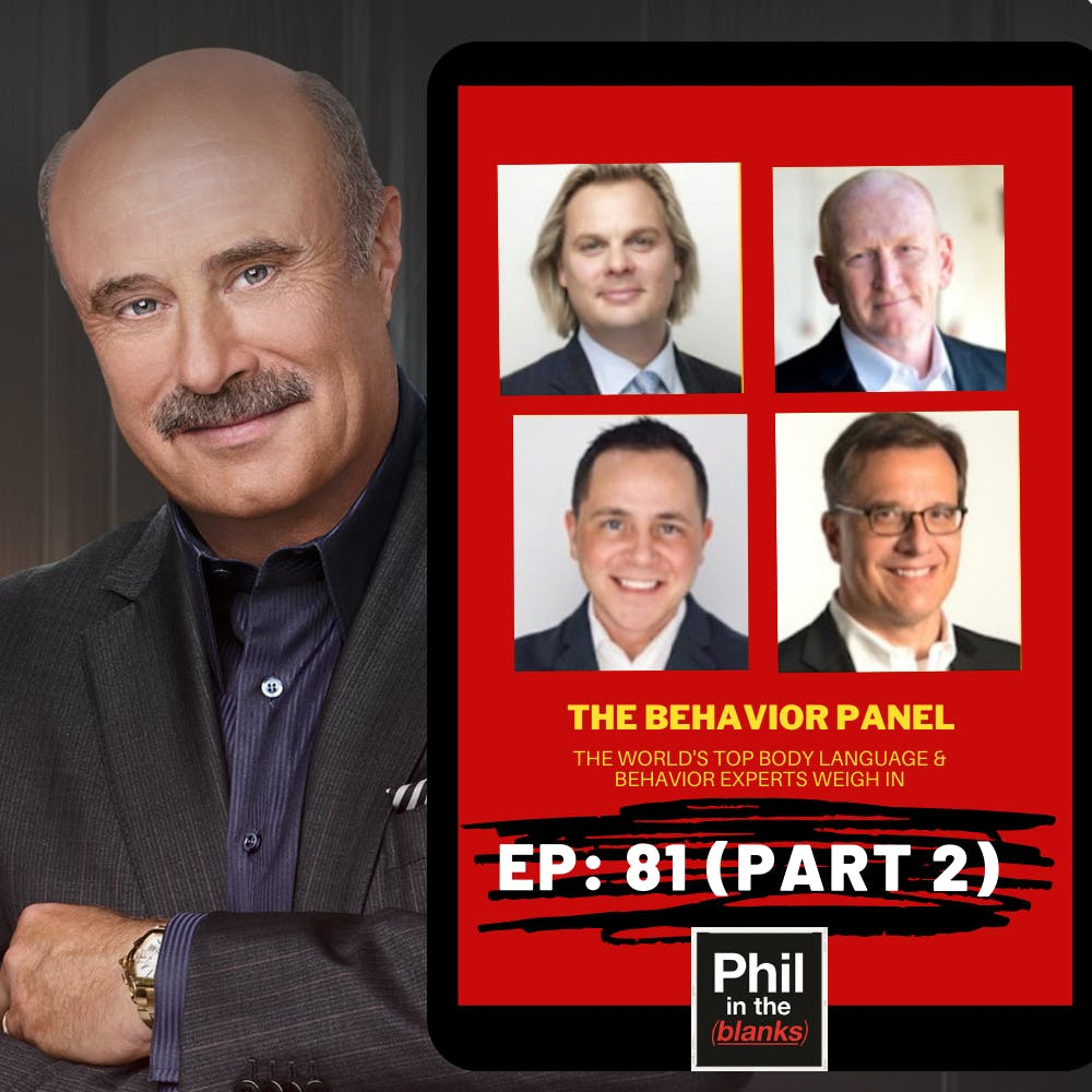 How To Look For Behavioral Patterns And What Self-Pity Tells Us About People: The Behavior Panel, Part 2