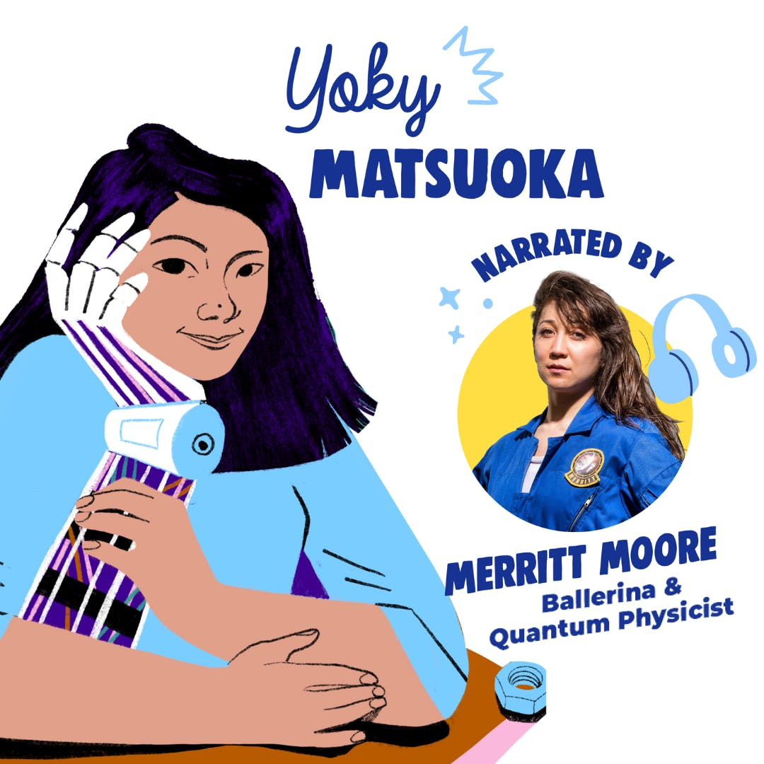 Yoky Matsuoka Read By Merritt Moore