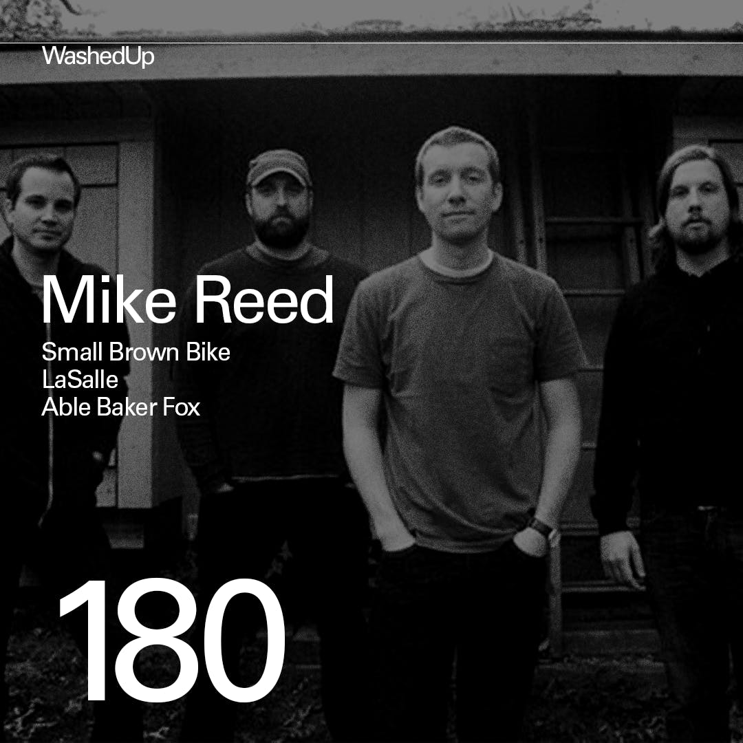 #180 - Mike Reed (Small Brown Bike)