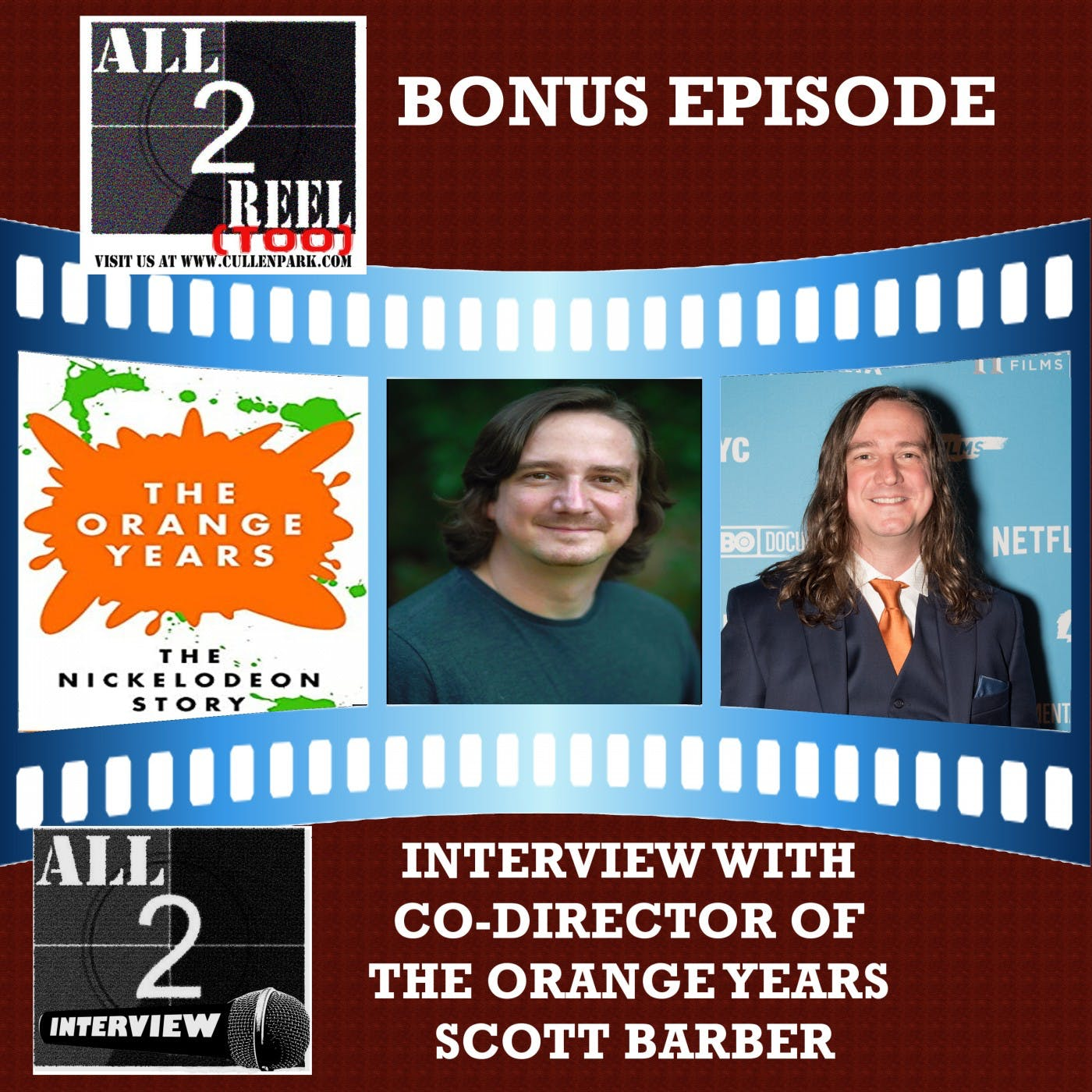 SCOTT BARBER INTERVIEW (CO-DIRECTOR OF The Orange Years: The Nickelodeon Story)