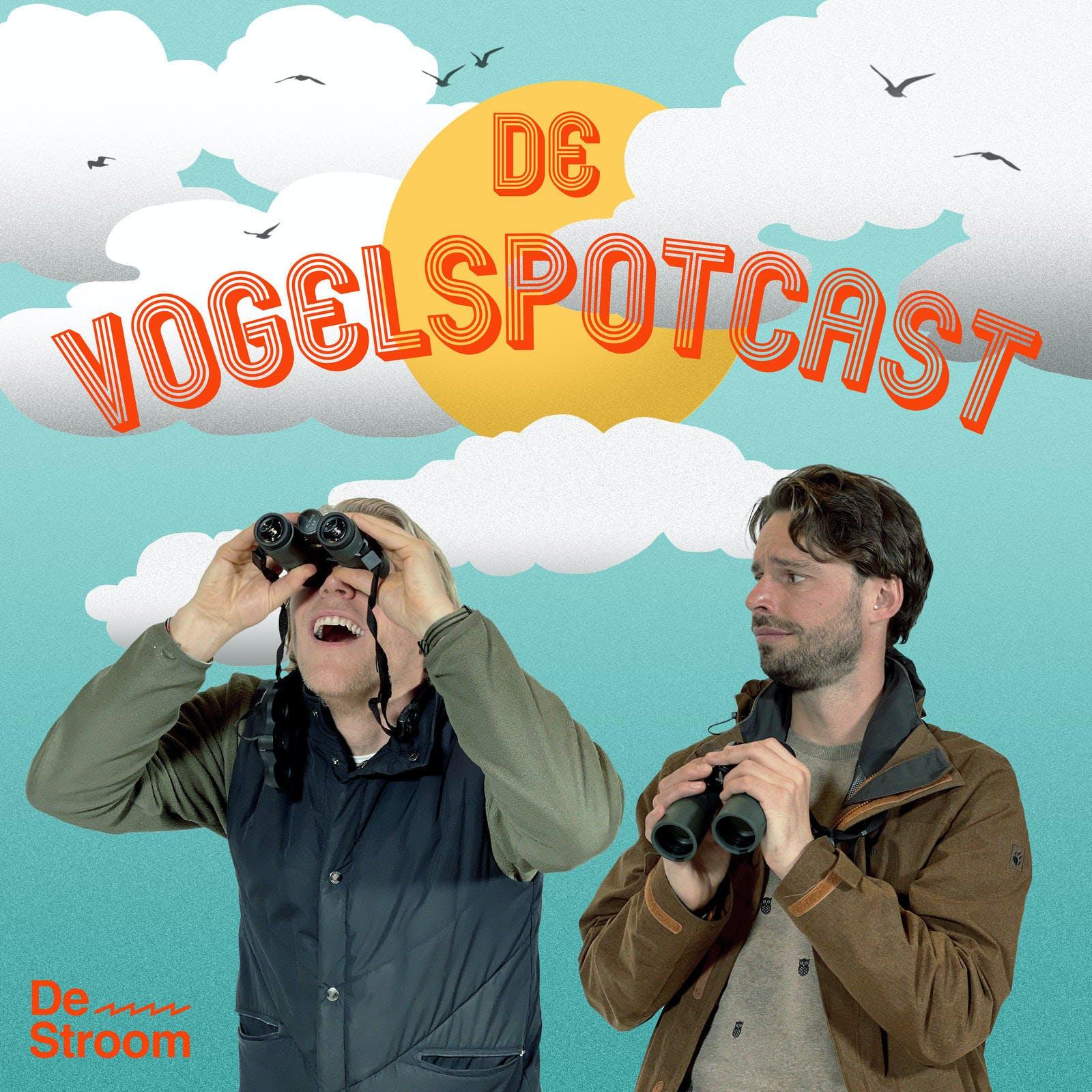 De Vogelspotcast logo