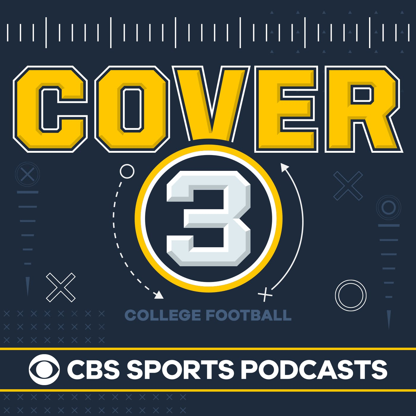 Cover 3 College Football podcast show image