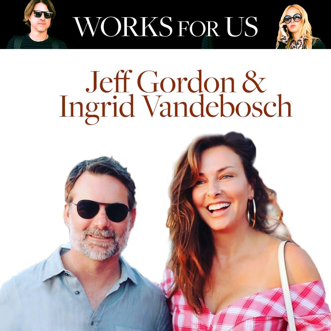 Jeff Gordon & Ingrid Vandebosch
