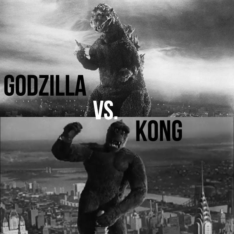 #820: Godzilla ('54) vs. Kong ('33)