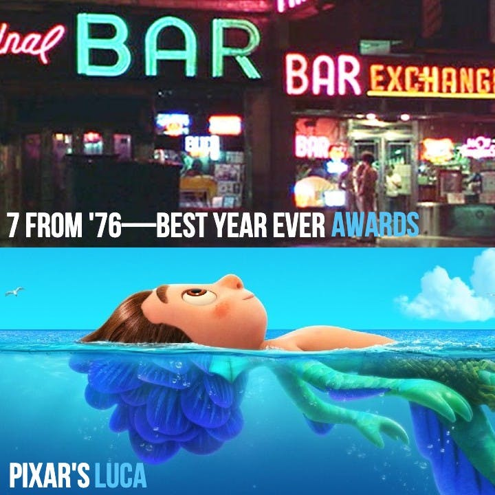 #830: Pixar's Luca / 7 From '76 Awards / The Sparks Brothers