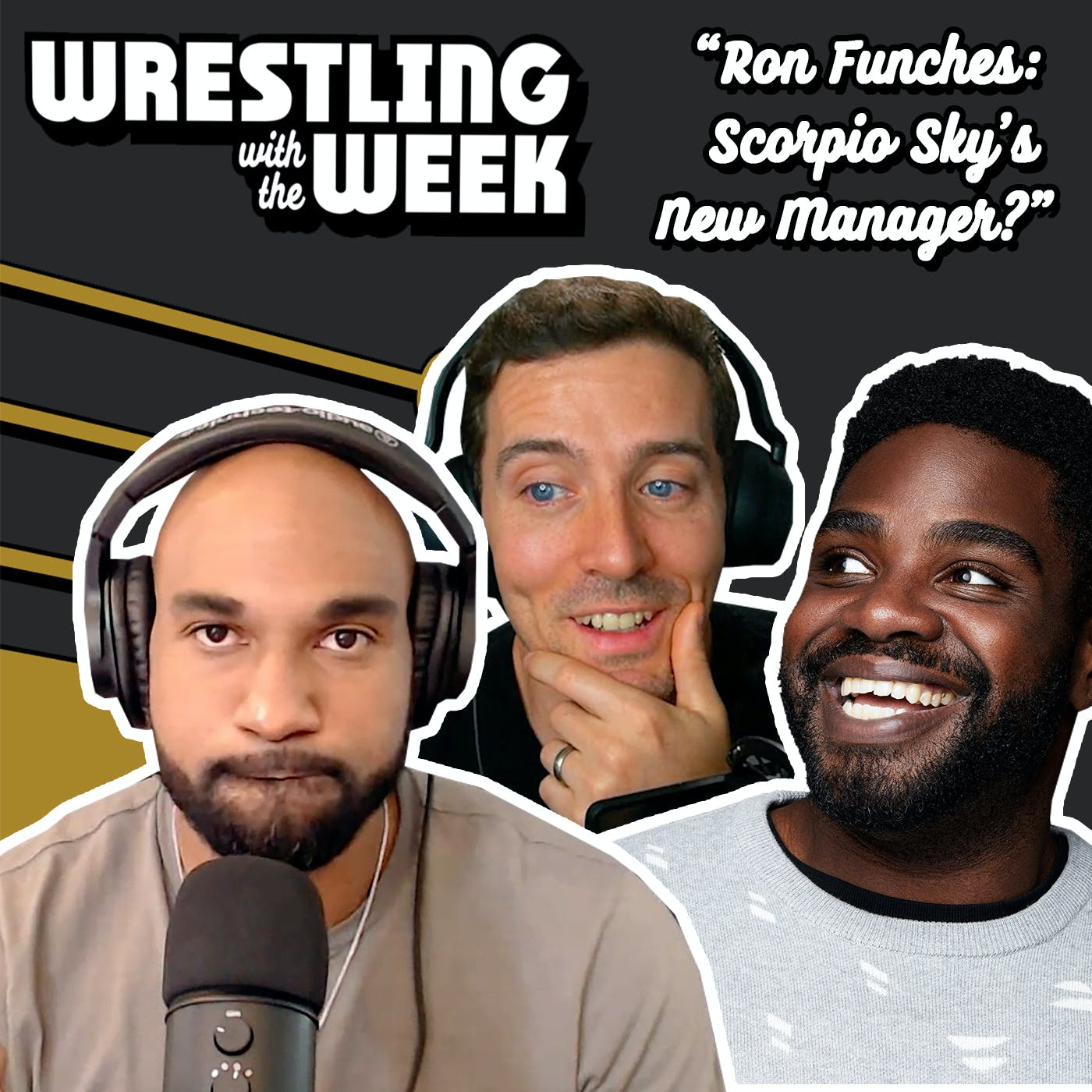 """""""Ron Funches as Scorpio Sky's New Manager?"""""""