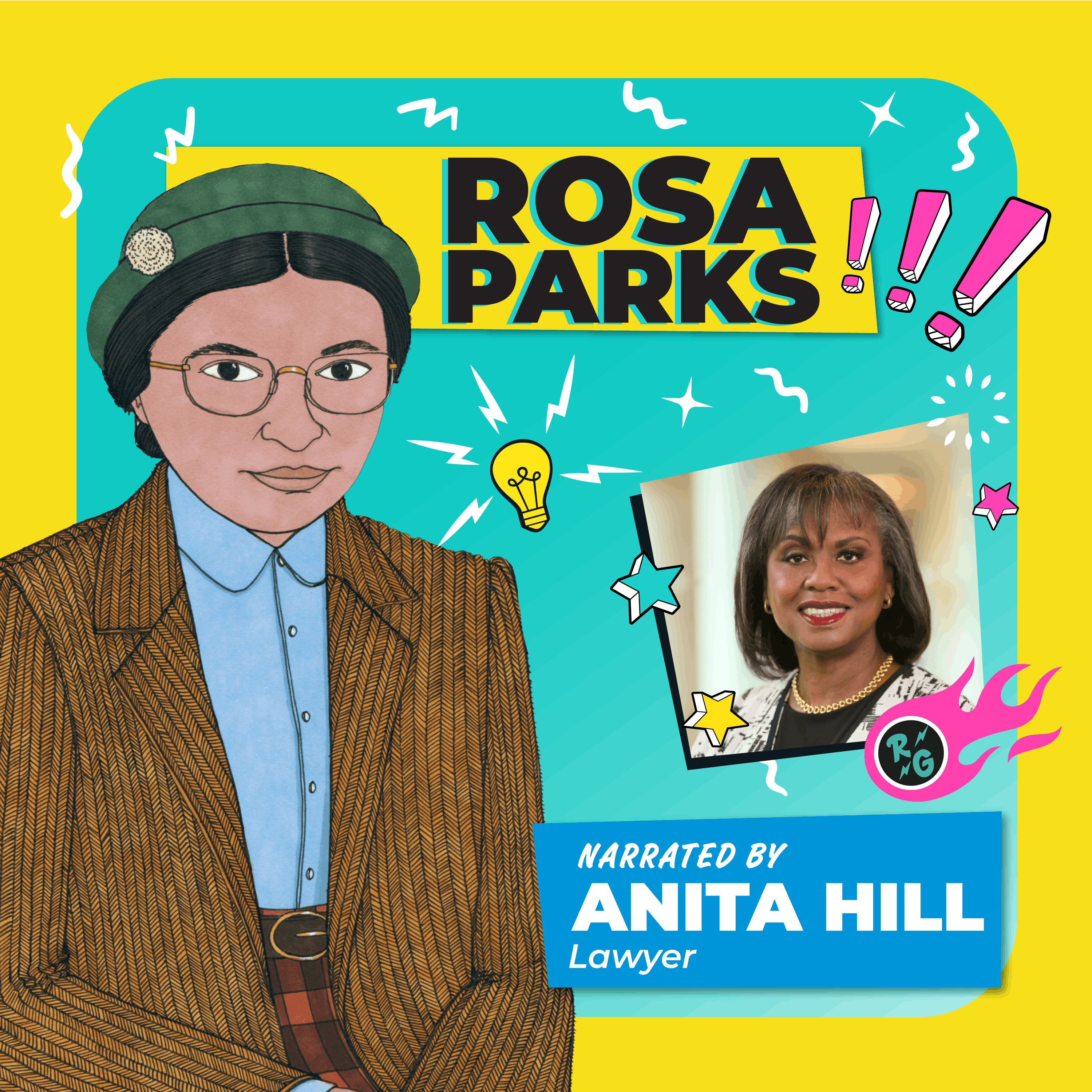 Rosa Parks Read By Anita Hill