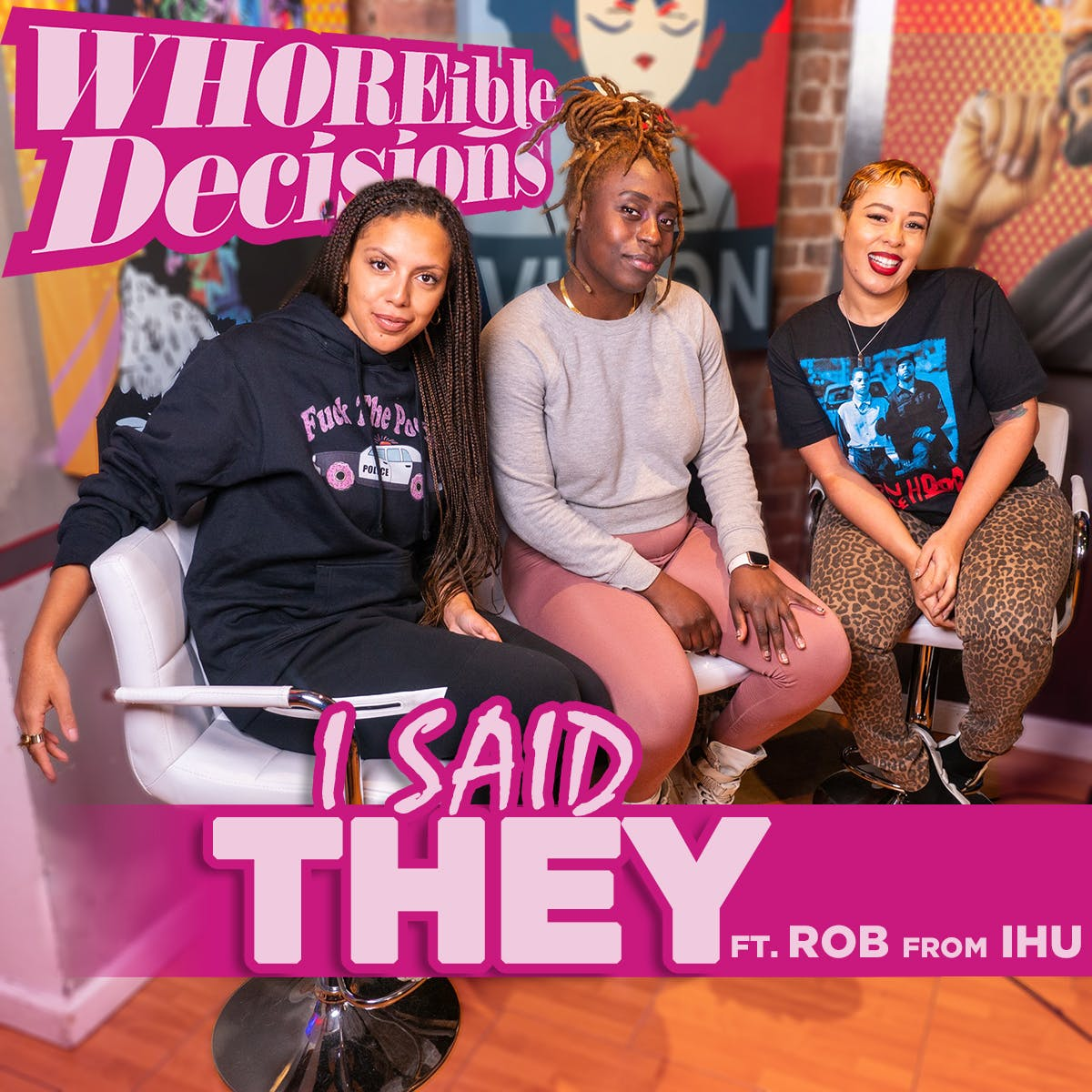 """EP 203: """"I said THEY"""" feat Rob from IHU"""