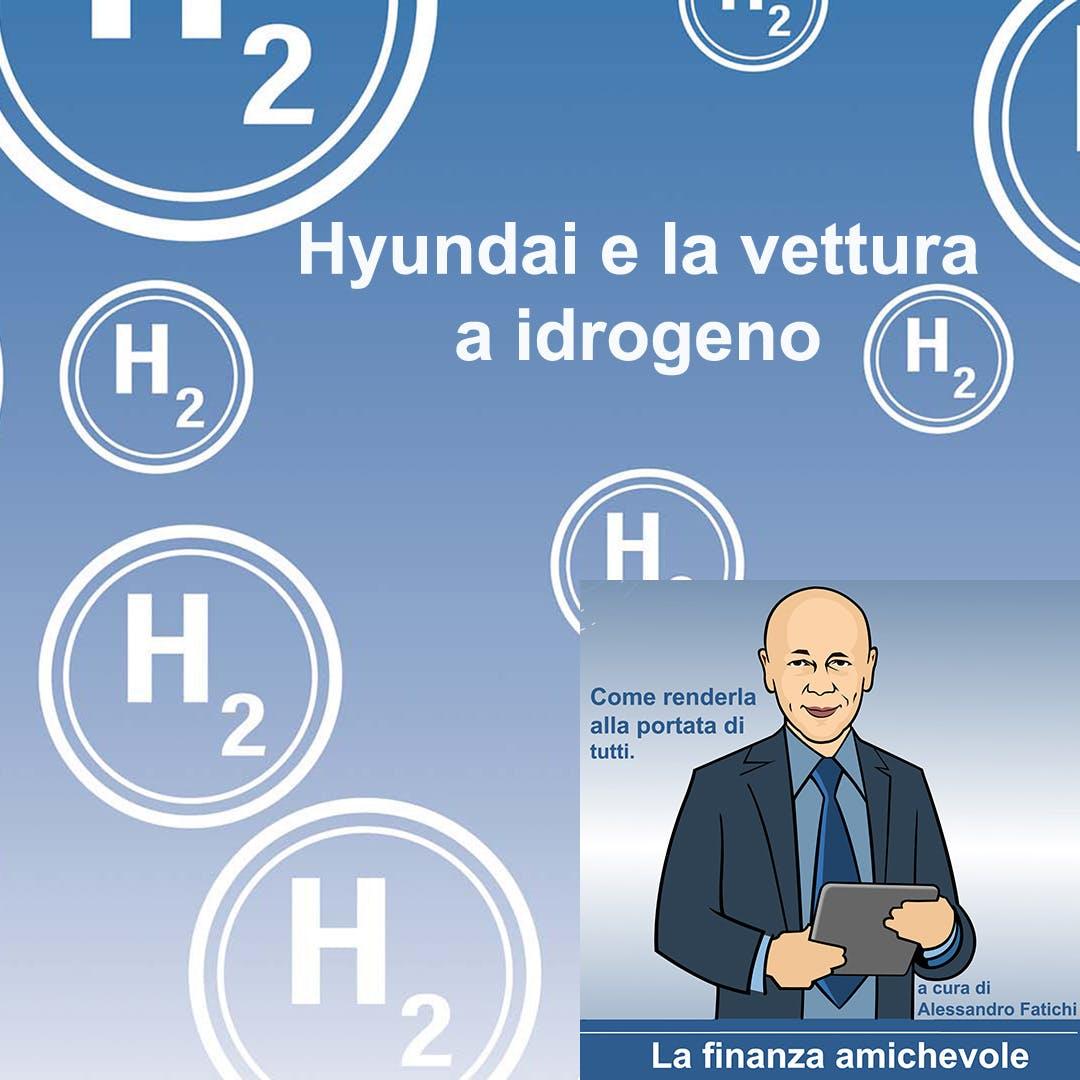 Hyundai e la vettura a idrogeno
