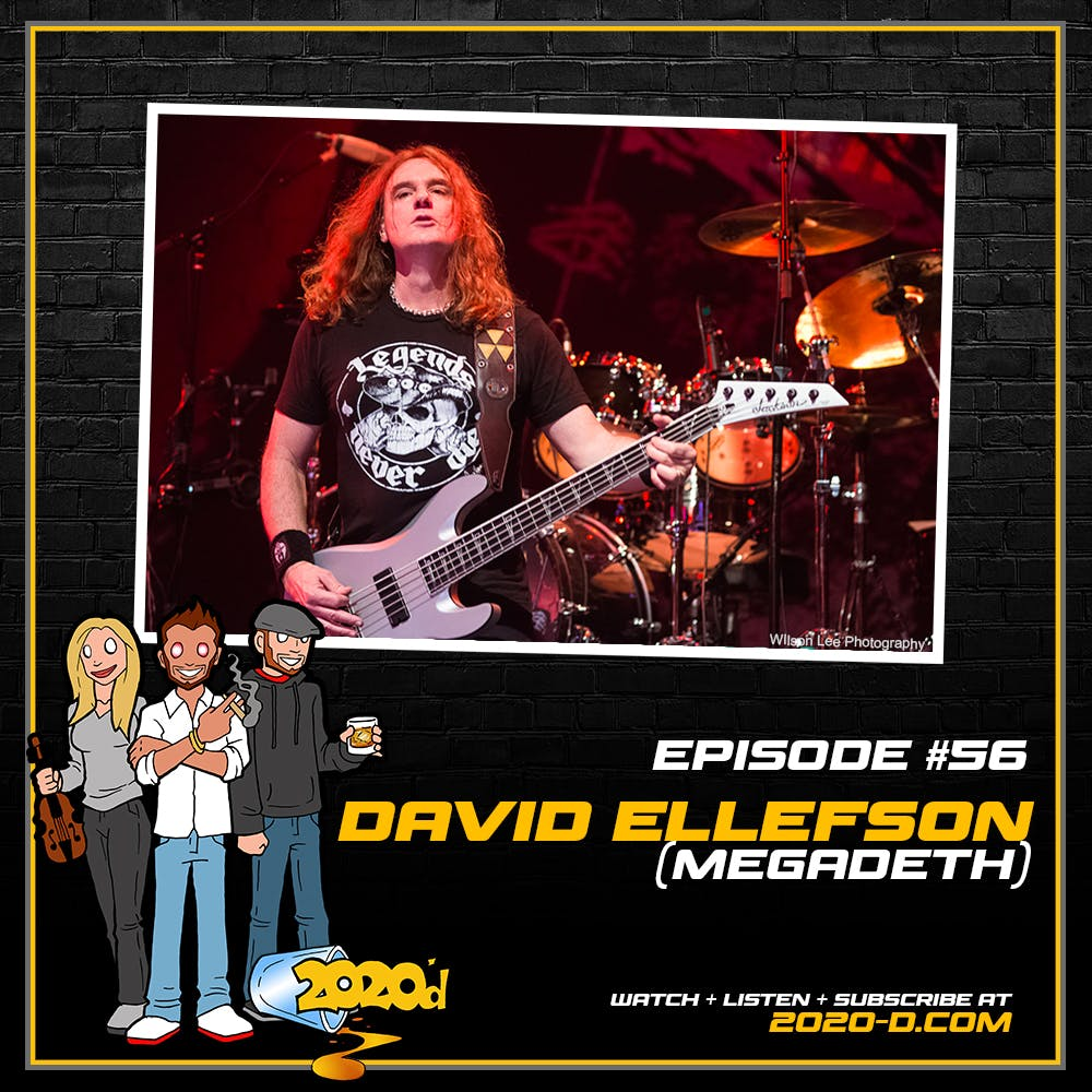 David Ellefson: Learn to Swim with the Sharks