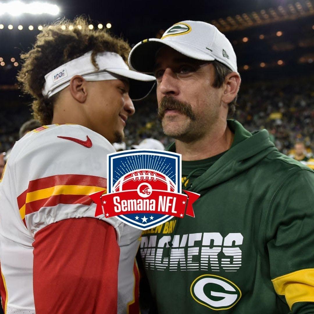 Semana NFL #8 - Mahomes cada vez mais protegido e Rodgersgate em Green Bay