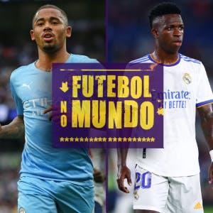 Futebol no Mundo #31: Gabriel Jesus e Vini Jr brilhando, show de gols na Itália e confusão em Nice