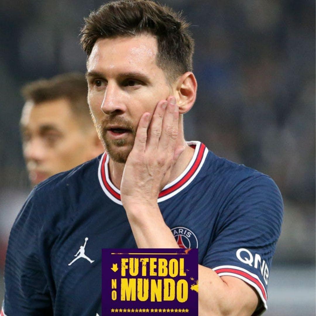 Futebol no Mundo #39: Messi substituído e Piqué de centroavante