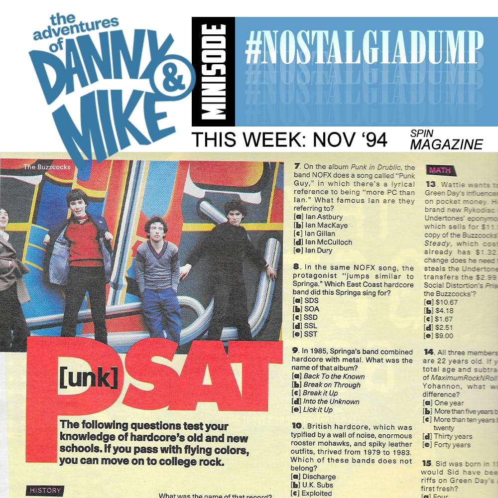 121 - The Punk ACT (SPIN Magazine, 11/94) #nostalgiadump