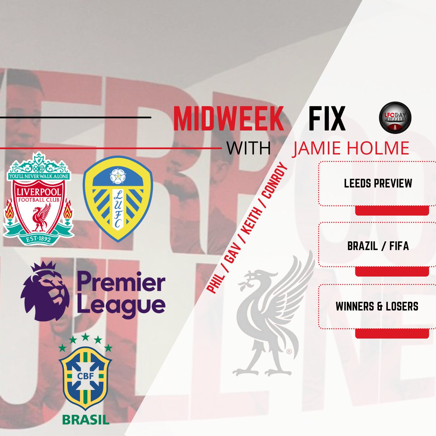 Liverpool without Brazilian stars ? | The Midweek Fix