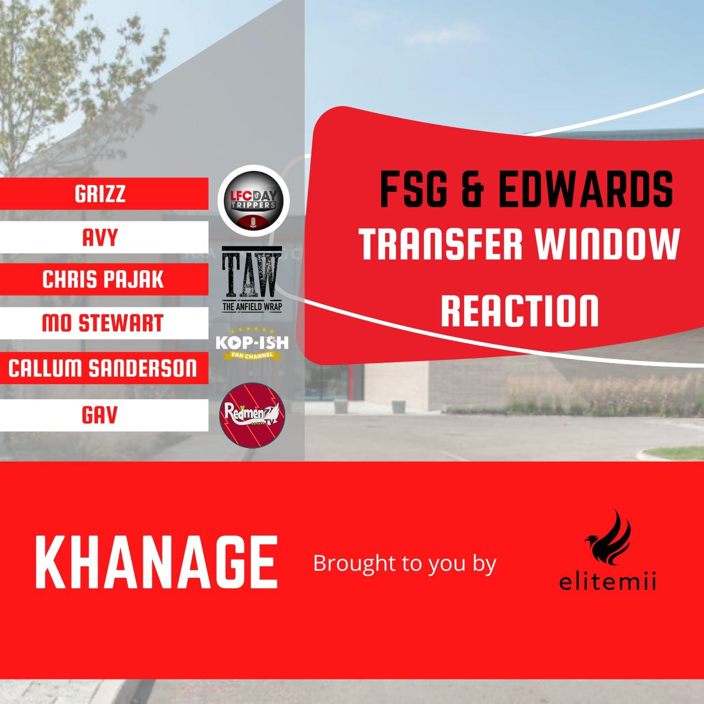 Liverpool Fan Reaction | Edwards & FSG | Khanage