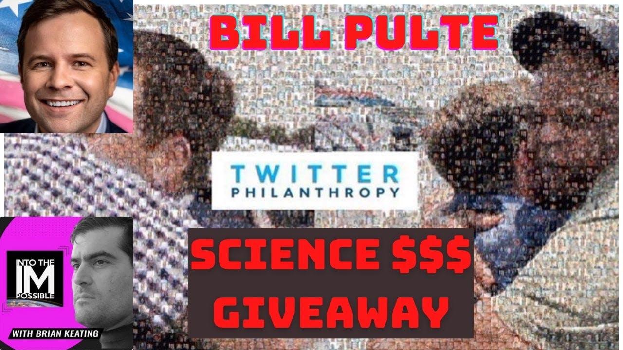 Bill Pulte: Twitter Philanthropy!