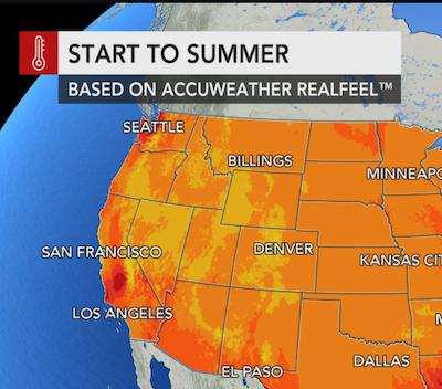 AccuWeather 2019 US summer forecast