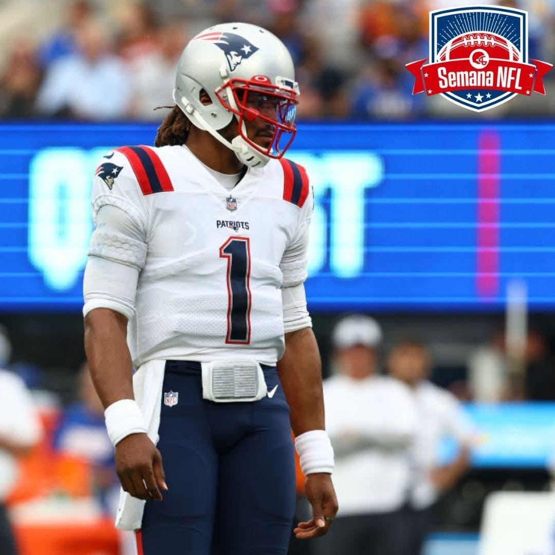 Semana NFL #17 - Cam Newton cortado nos Patriots. E agora?