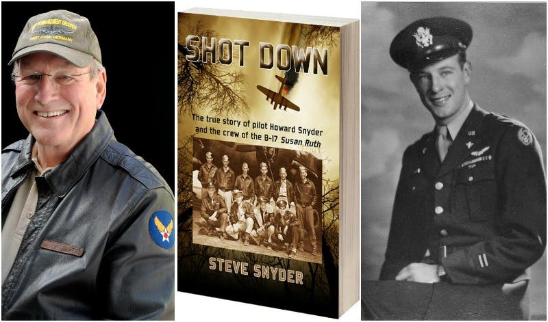 Episode 242-Interview with Steve Snyder about his book Shot Down: The True story of Pilot Howard Snyder and the crew of the B 17 Susan Ruth
