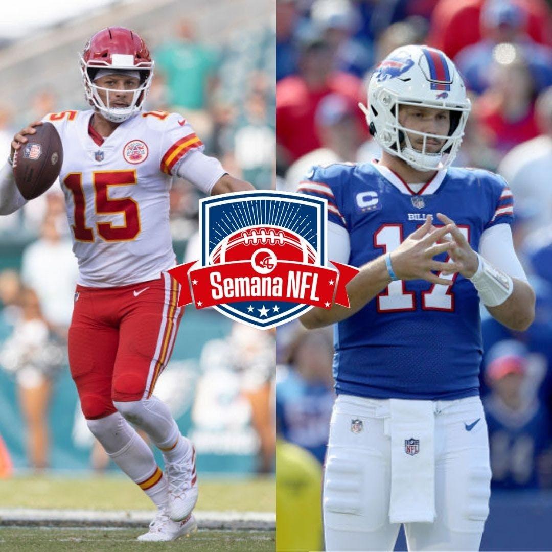 Semana NFL #22 - Retorno de Brady a Foxboro, Mahomes x Allen e a prévia da Semana 5