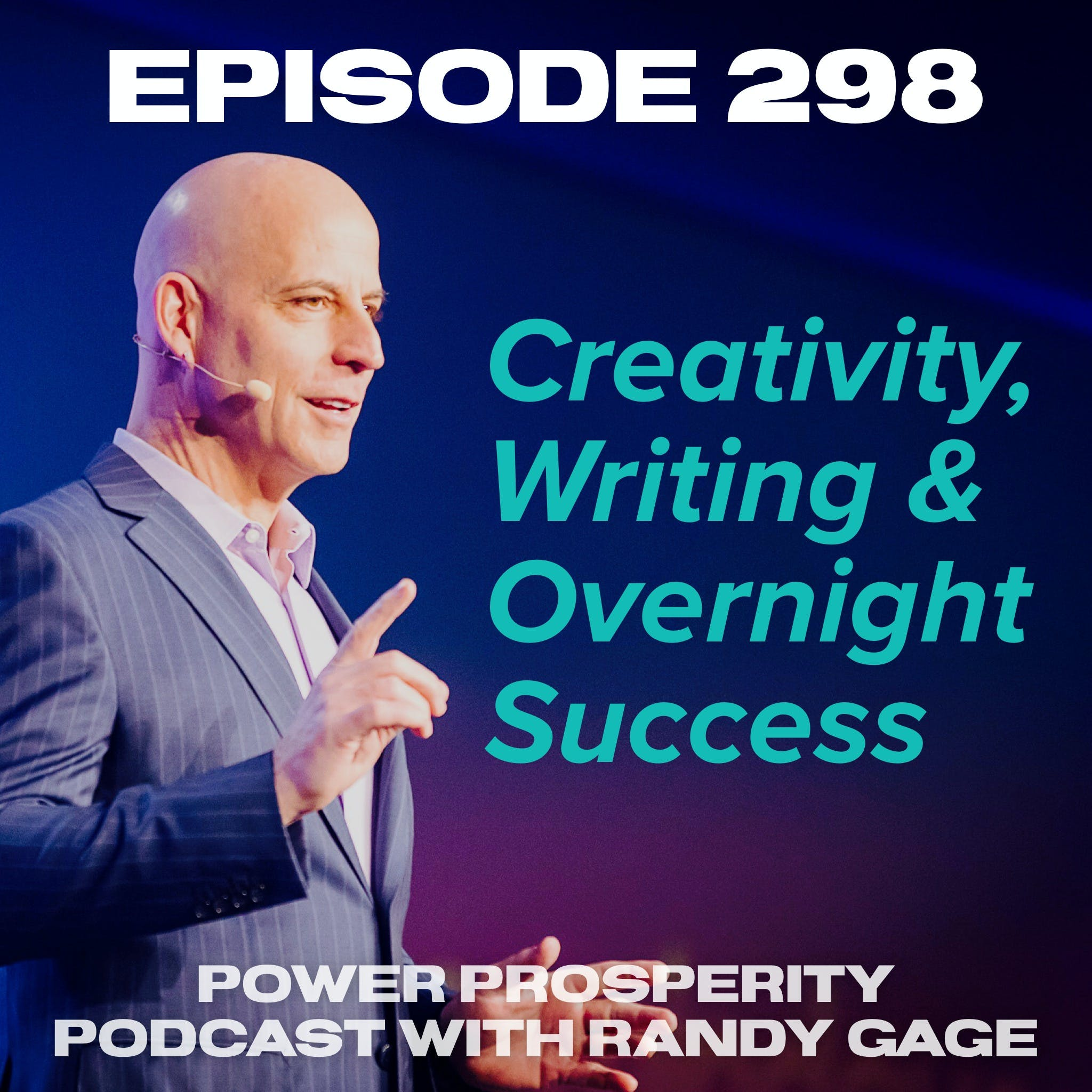 Episode 298: Steven Pressfield on Creativity, Writing & Overnight Success