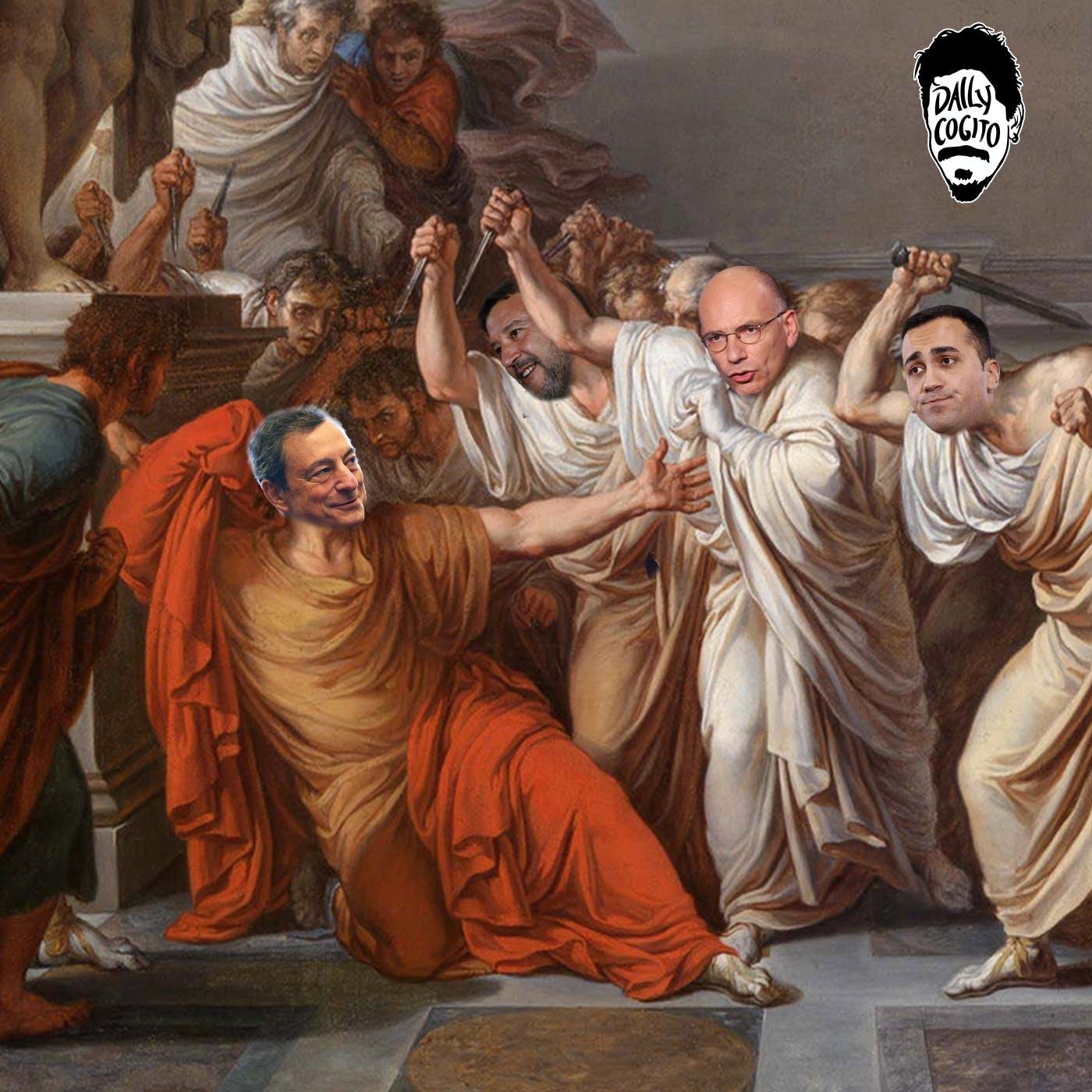 Mario Draghi & Giulio Cesare: l'Astensione dalla Democrazia