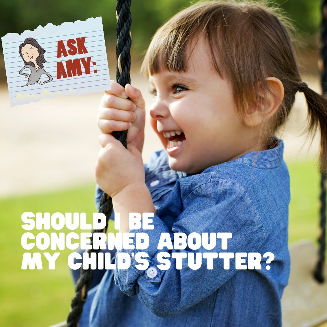 Ask Amy - Is Childhood Stuttering Something To Be Concerned About?