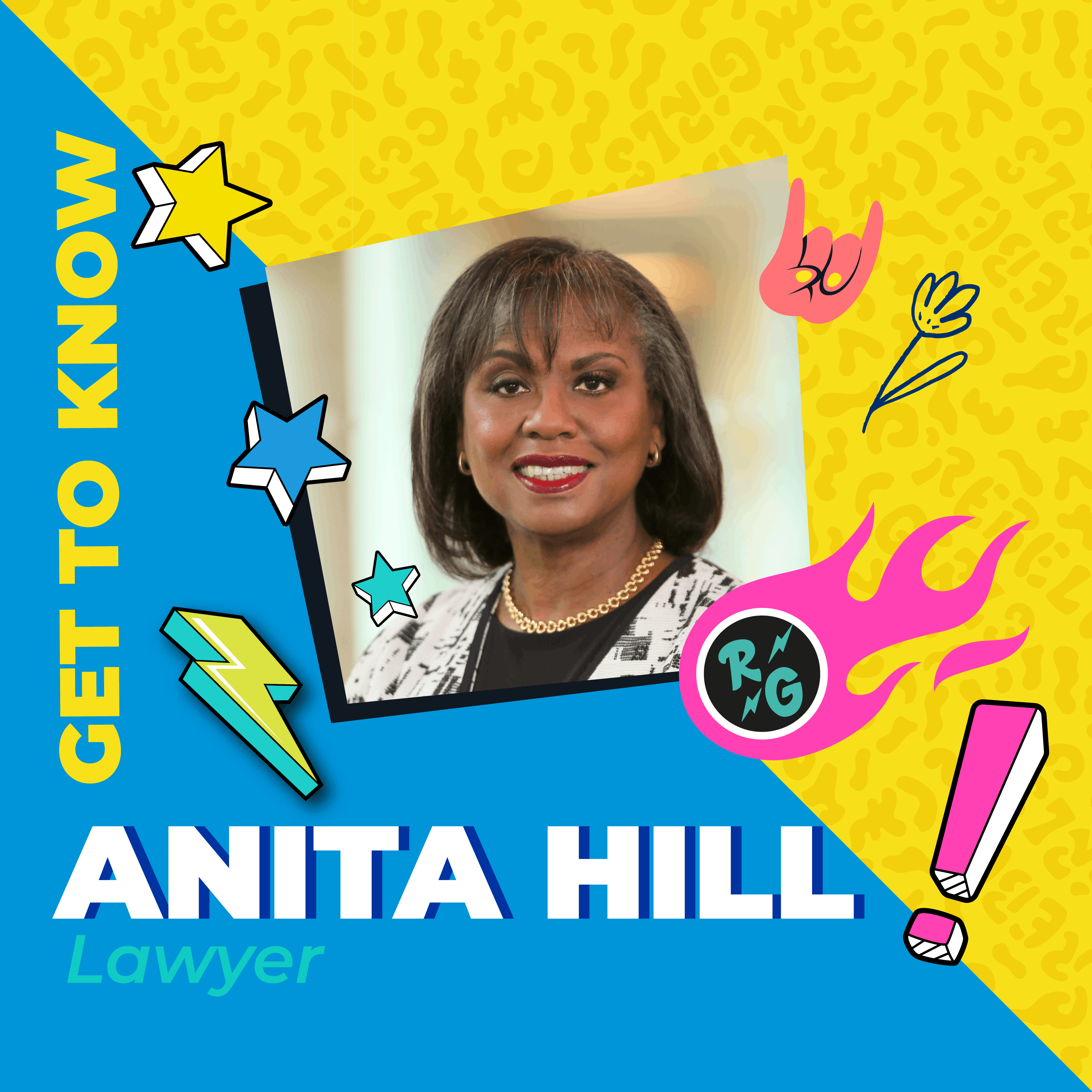 Get To Know Anita Hill