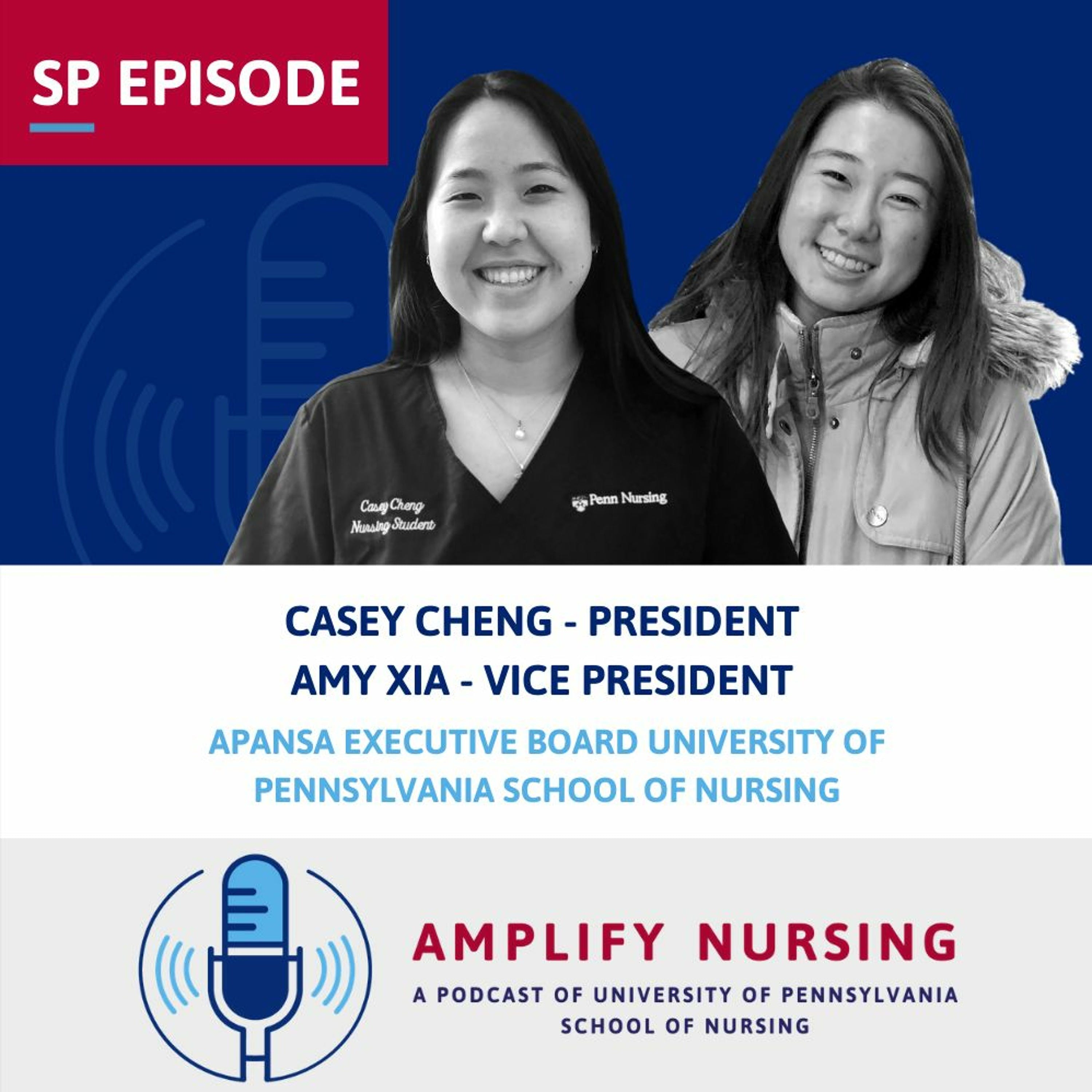 Amplify Nursing: Special Episode: Casey Cheng and Amy Xia