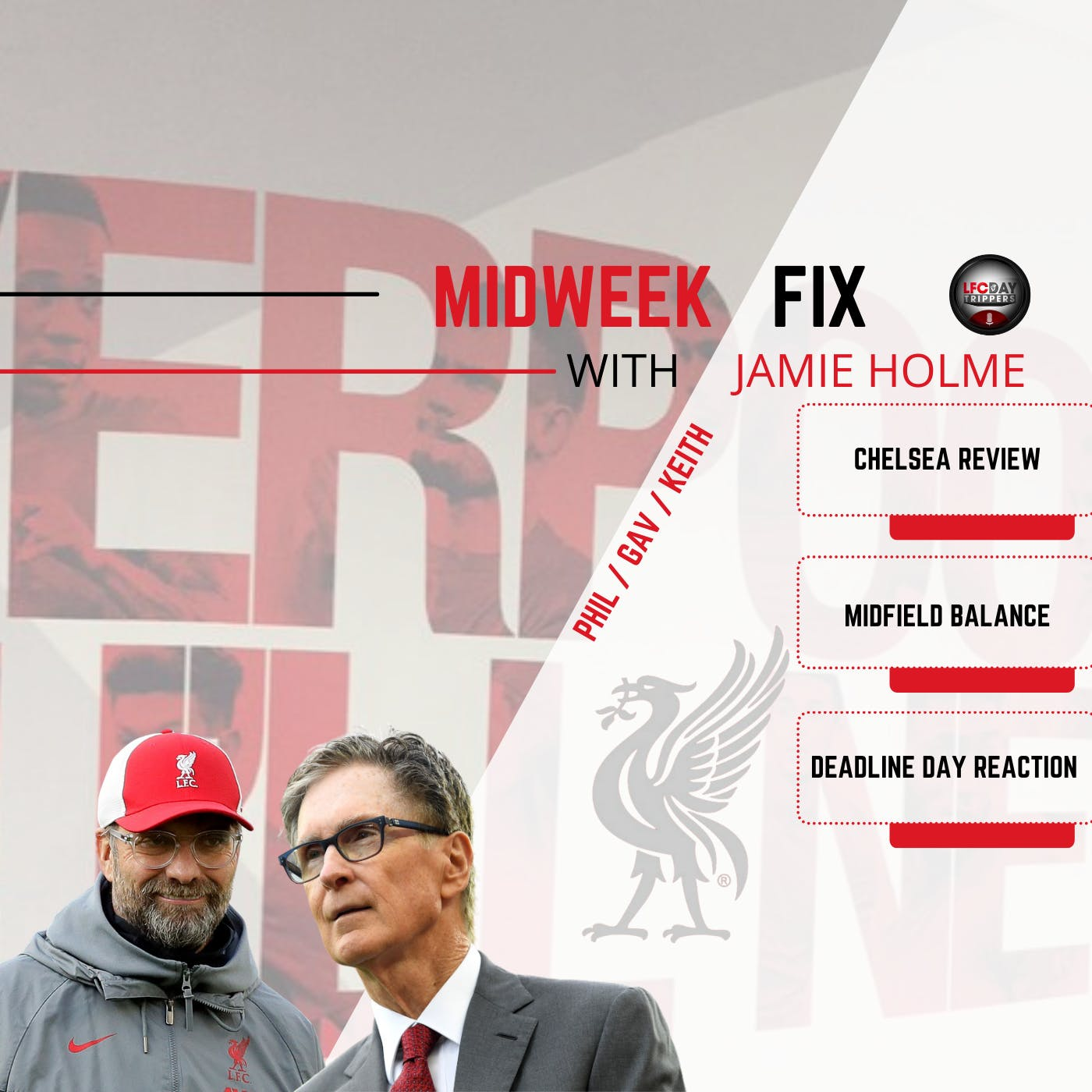 Liverpool vs Top 6  | The Midweek Fix | LFC Daytrippers