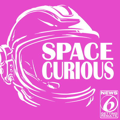 Cover for Space Curious