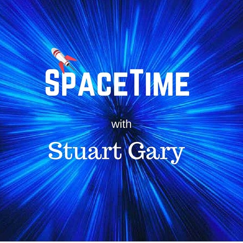 69: Towering Radio Bubbles Discovered at the Galactic Centre by SpaceTime with Stuart Gary