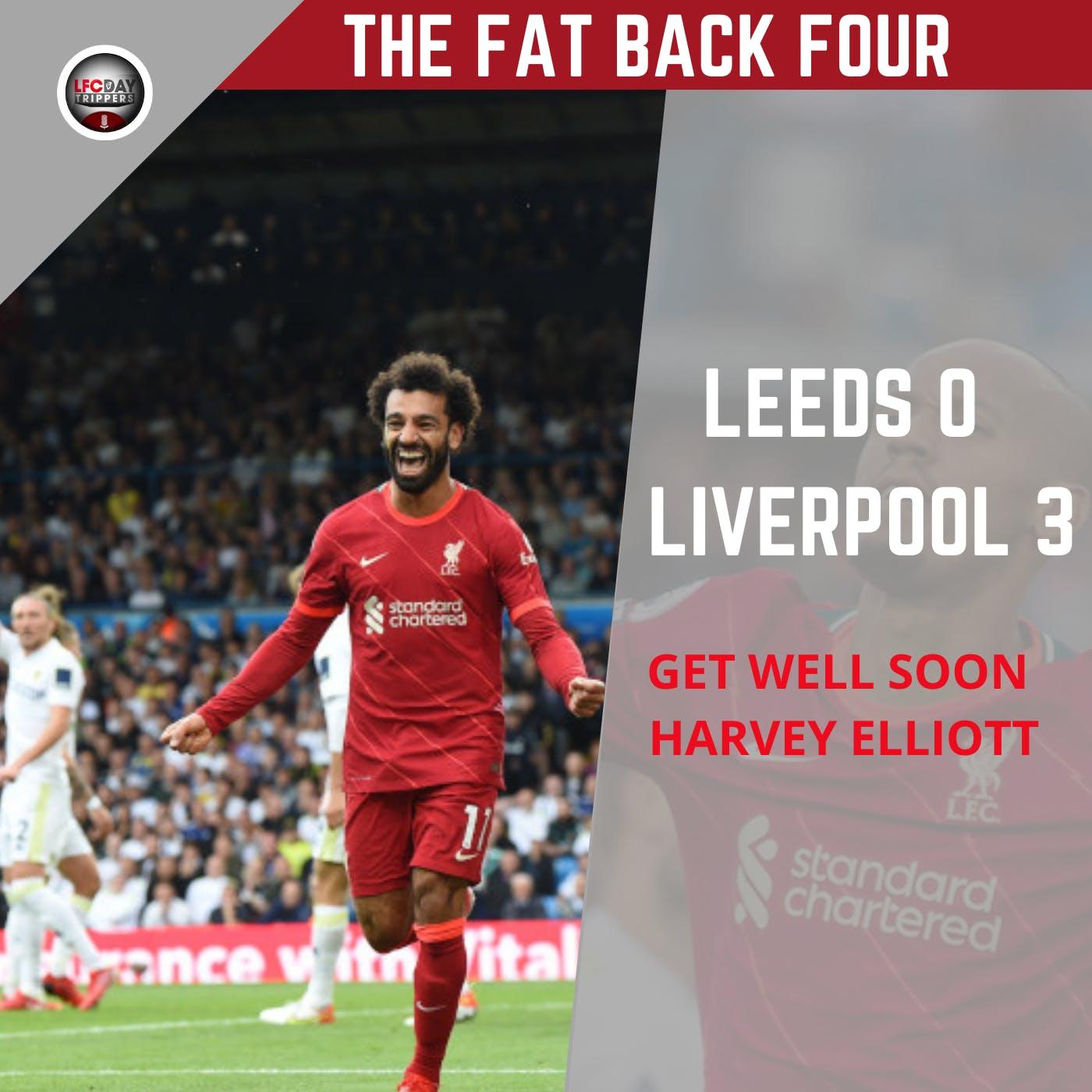 Leeds 0 Liverpool 3 | Harvey Elliott Injury | FB4