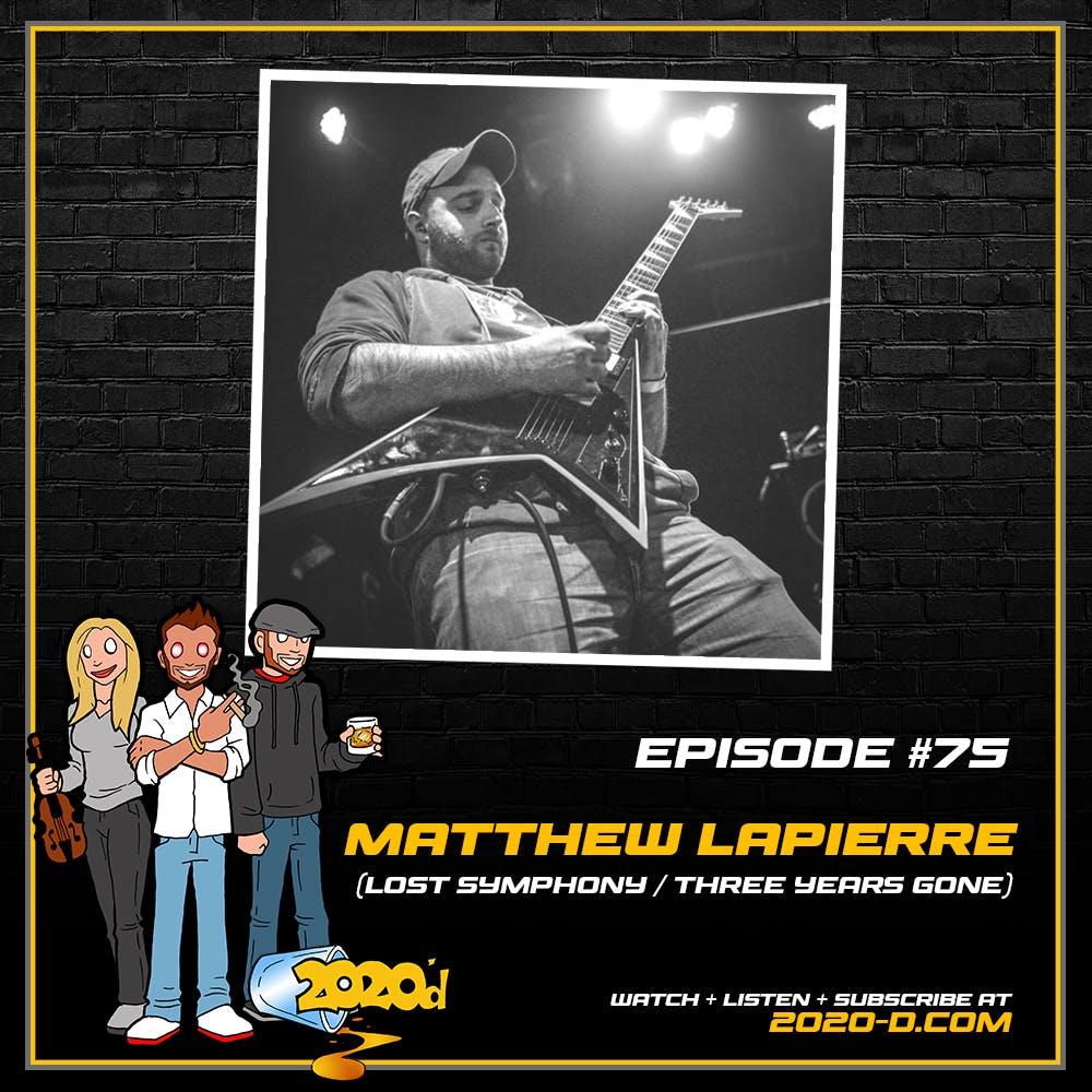 Matthew LaPierre: That Time I Almost Strangled Benny