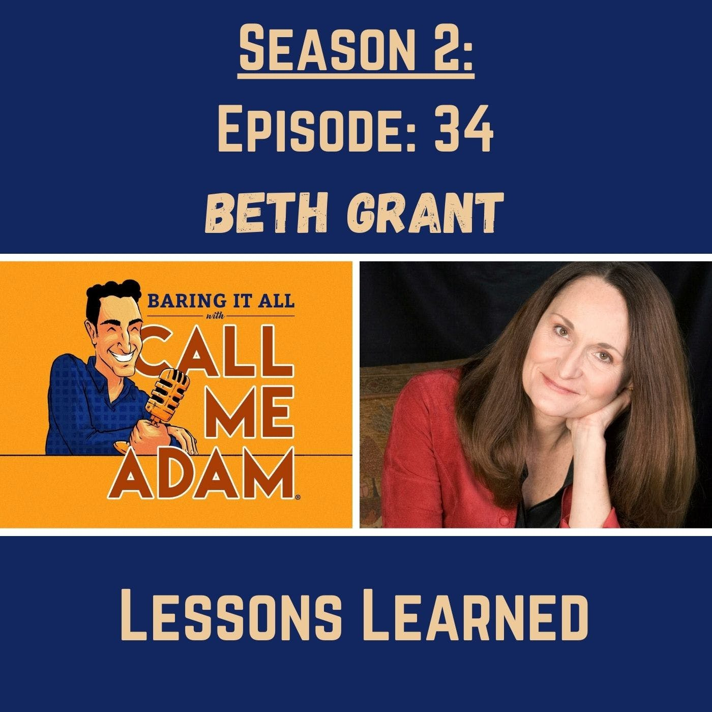 Season 2: Episode 34: Beth Grant Returns: Lessons Learned, Being Fired, Mad About You, The Mindy Project, To Wong Foo, Thanks For Everything! Julie Newmar