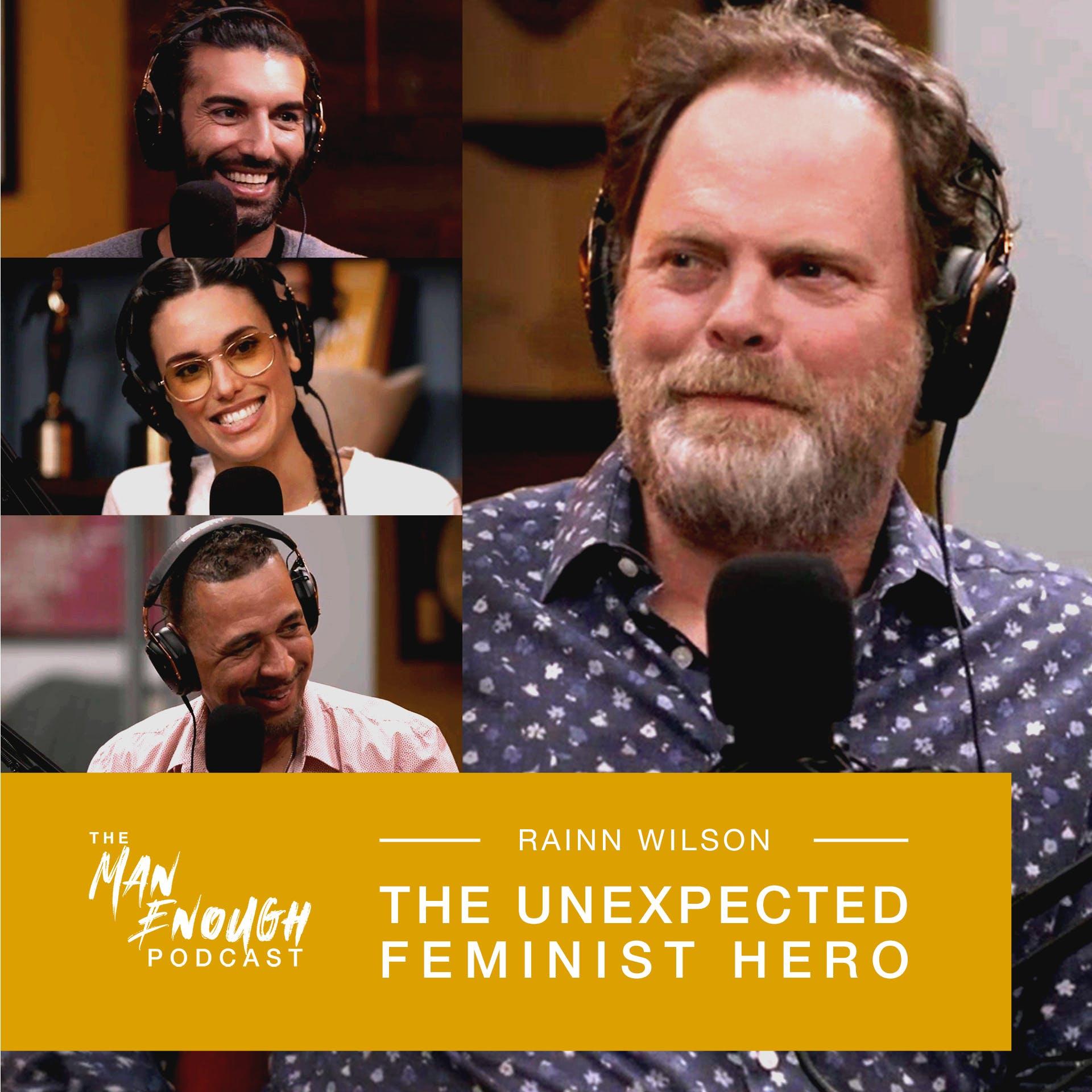 Rainn Wilson: The Unexpected Feminist Hero