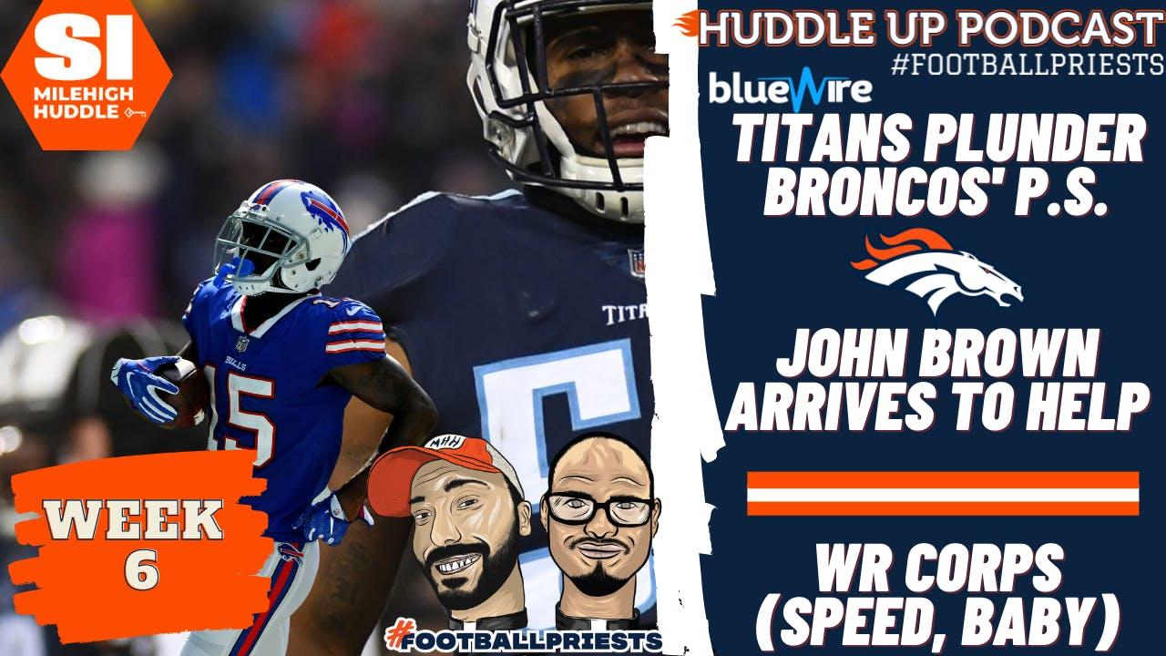 HU #775: Titans Plunder Broncos' P.S. | WR John Brown Signed