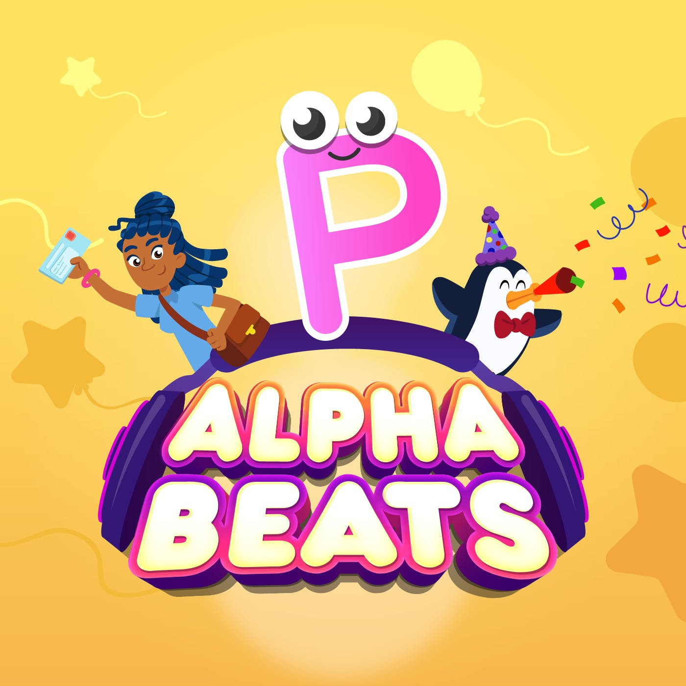 Letter P – A Perfect Party for Pals